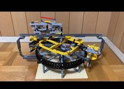 Enlace a Construye un péndulo y un reloj de tourbillon con lego