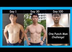 Enlace a Reto One Punch Man para ponerse en forma en 100 días