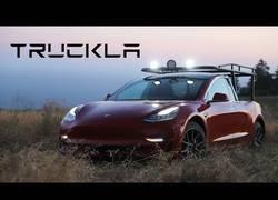 Enlace a Truckla, la primera camioneta eléctrica