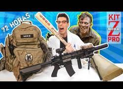 Enlace a Kit de supervivencia al Apocalipsis Zombie más completo, más caro y profesional para 24 horas a 72 horas