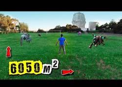 Enlace a Oculus + campo de fútbol