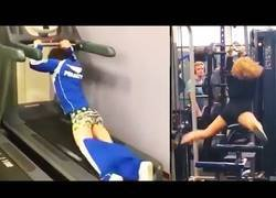 Enlace a Stupid Gym Fail Compilation