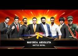 Enlace a Recrean el panorama político español actual en una pelea de Wrestling