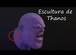 Enlace a Diseñando un busto de Thanos con plastilina