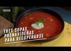 Enlace a Recetas de sopa ideales tras los excesos de comida en Navidad