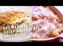 Enlace a Dos formas de hacer macarrones gratinados al más puro estilo catalán clásico