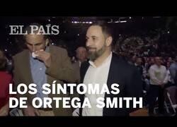 Enlace a Los síntomas de Ortega Smith durante el miting de VOX el domingo pasado