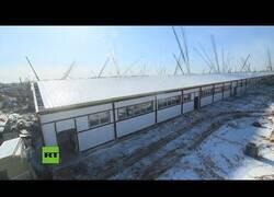 Enlace a El 'Timelapse' de un hospital construido en Rusia por el COVID-19