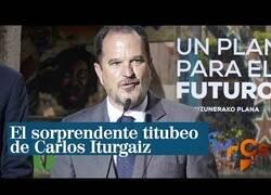 Enlace a El lapsus del candidato a Lehendakari del PP al ser increpado en su discurso en Bilbao