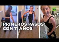 Enlace a Niña paralizada de 11 años aprende a caminar durante la cuarentena