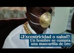 Enlace a Un hombre se gasta 4.000 € en una mascarilla de oro