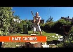 Enlace a Hacer las tareas del hogar puede ser lo peor