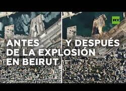 Enlace a El antes y el después de la explosión en el puerto de Beirut