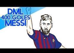 Enlace a Draw My Life recrea esta maravilla con los 400 goles de Messi
