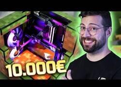Enlace a Nate construye un auténtico monstruo de PC valorado en 10.000€ basado en Minecraft