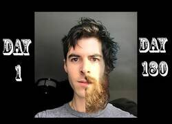 Enlace a Graba como le crece la barba durante la cuarentena en temporada de coronavirus