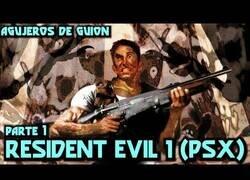 Enlace a Agujeros en Videojuegos: RESIDENT EVIL 1 (PS1)