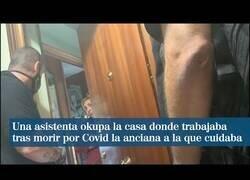 Enlace a Una asistenta okupa la casa donde trabajaba tras morir la anciana a la que cuidaba por Covid