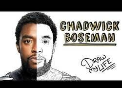 Enlace a El 'Draw My Life' de Chadwick Boseman