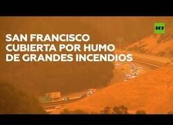 Enlace a Los incendios forestales tiñen de naranja el cielo de San Francisco