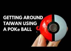 Enlace a En Taiwán puedes viajar en metro y pagar en máquinas expendedoras con Poke Balls
