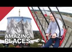 Enlace a El parque de atracciones construido sobre una antigua central nuclear