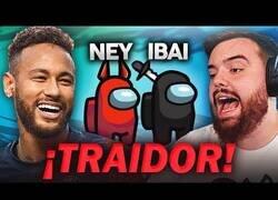 Enlace a Ibai Llanos juega al Among Us con Neymar y Kun Agüero