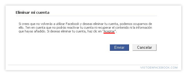 dar de baja,eliminar,estafa,facebook,fail,tongo
