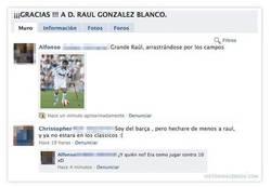 Enlace a Trolleando la página homenaje a Raúl