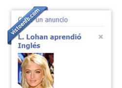 Enlace a Lindsay Lohan aprendio inglés. ¿Es de Albacete?