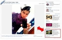 Enlace a Recomendaciones de facebook, cuanto menos, curiosas