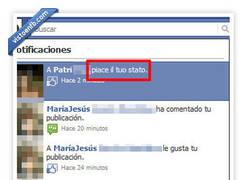 Enlace a Facebook y su popurrí de idiomas