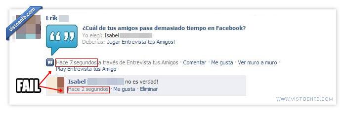facebook,fail,owned,ridículo,sin vida social,viciada,vicio