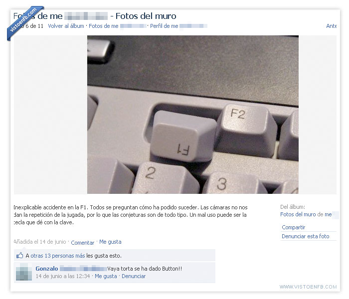 accidente,chiste malo,F1,teclado
