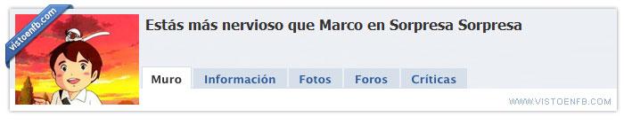 facebook,marco,nervioso