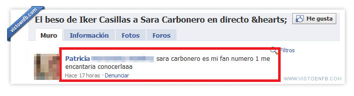 beso,casillas,fail,fan,mundial,sara carbonero