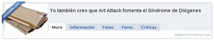 art attack,basura,diogenes,manualidades