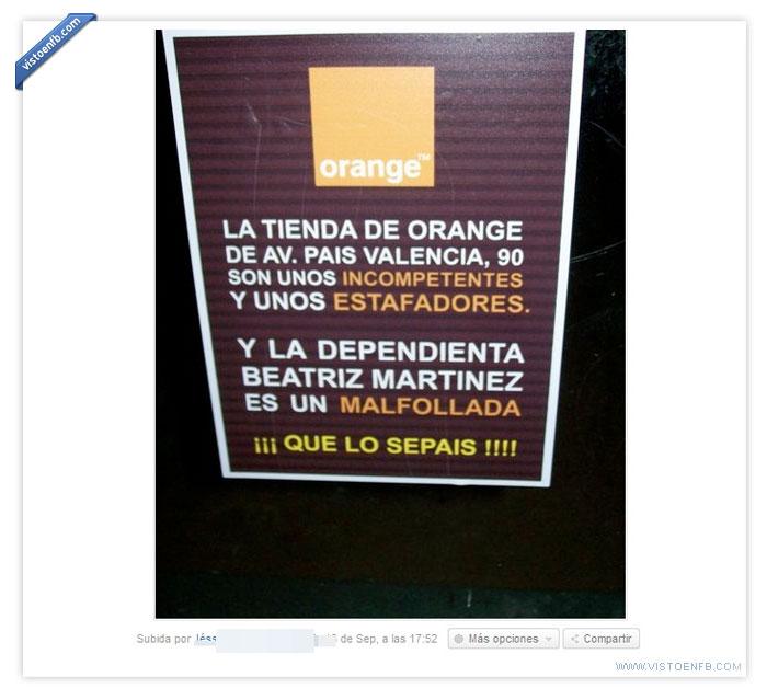 denuncia,orange,queja,servicio