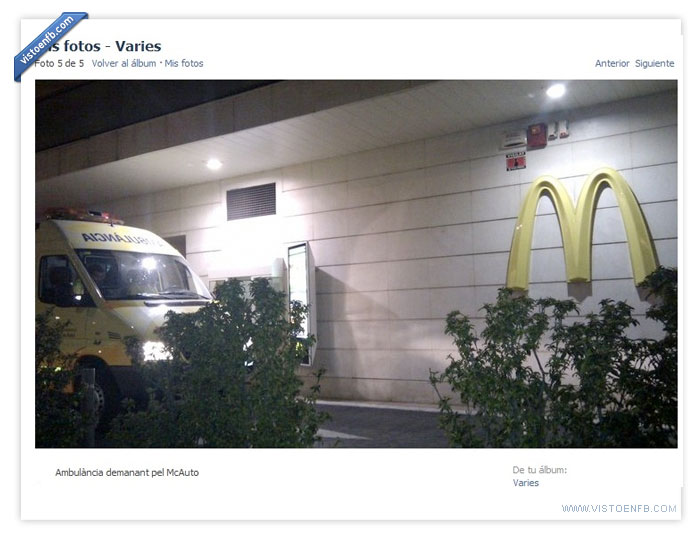 ambulancia,McAuto,McDonald's