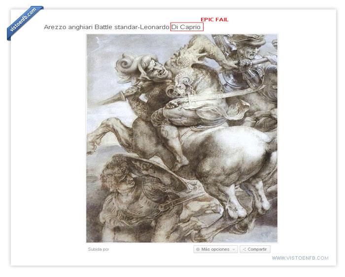 incultura,leonardo di caprio,pintor