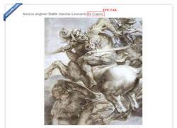 Enlace a Leonardo Dicaprio, ese gran pintor