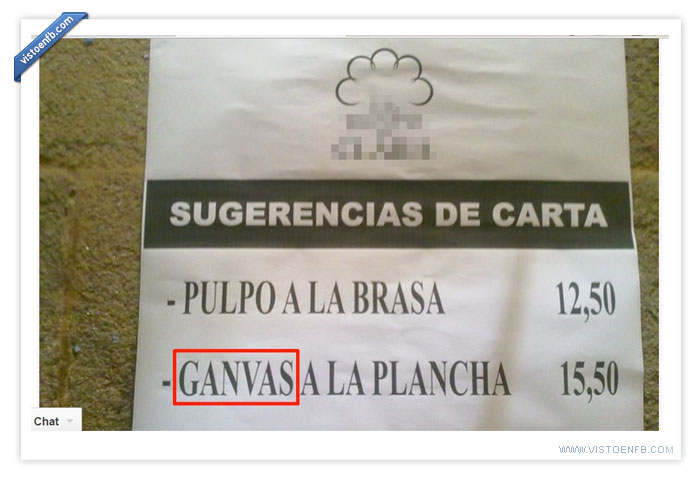 fail,gambas,ganvas,incultura,menu