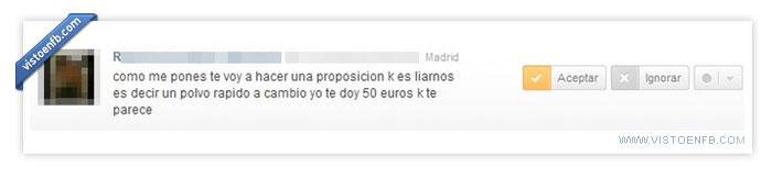 Amistad,euros,Petición