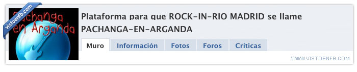 arganda,madrid,pachanga,rock in rio