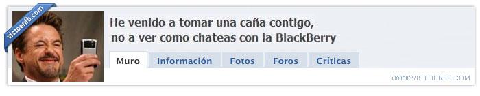 Birras,Blackberry,Comunicación,Quedar