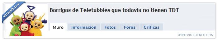 TDT,teletubies