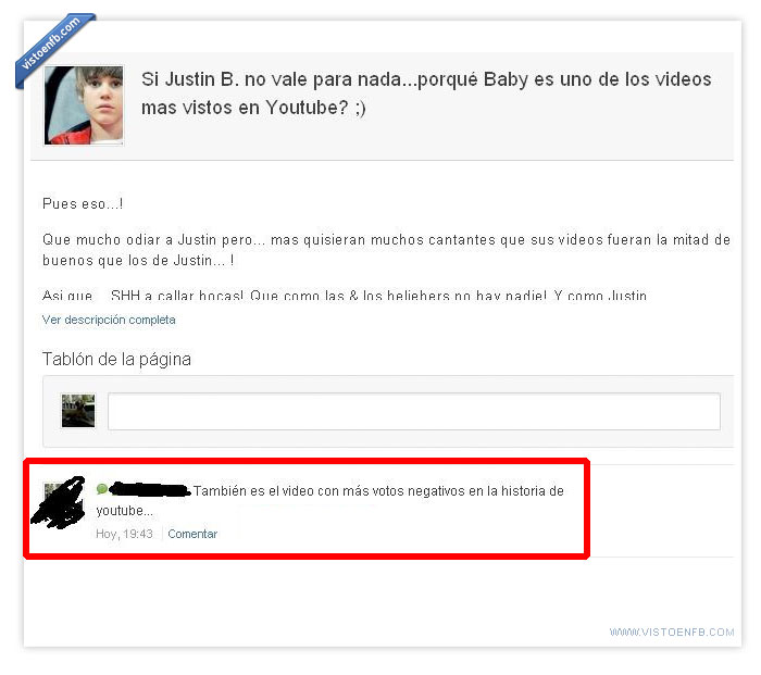 Bieber,Fail,Justin,Owned,Página
