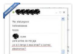 Enlace a ¿Email o correo electrónico?