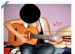 Enlace a La guitarra con una sola cuerda