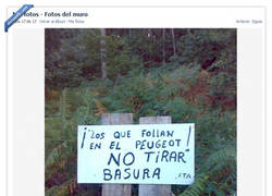 Enlace a Cartel informativo sobre el cuidado de montes en Galicia